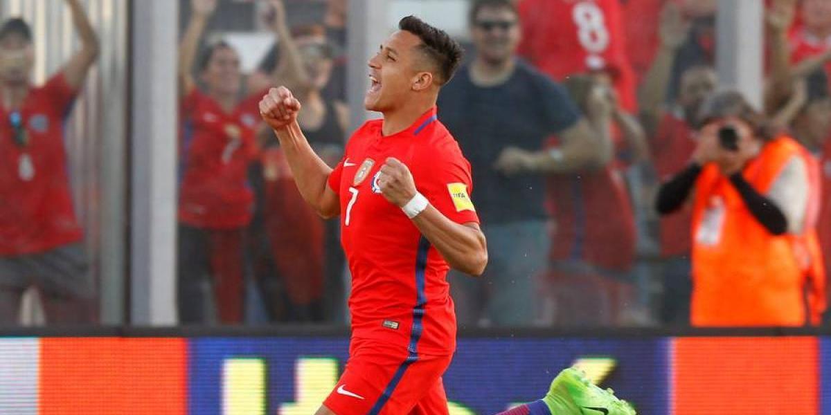 Alexis Sánchez logró otro récord en la Roja: empató a Bravo en partidos por Chile
