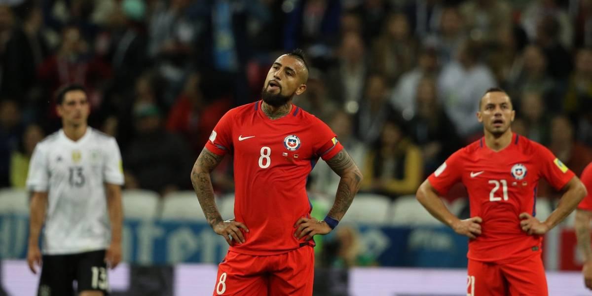 Chile se quedó sin bencina y chocó con el lado B de Alemania en la Confederaciones
