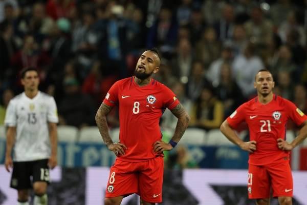 La Roja no pudo vencer al lado B de Alemania / imagen: Agencia UNO