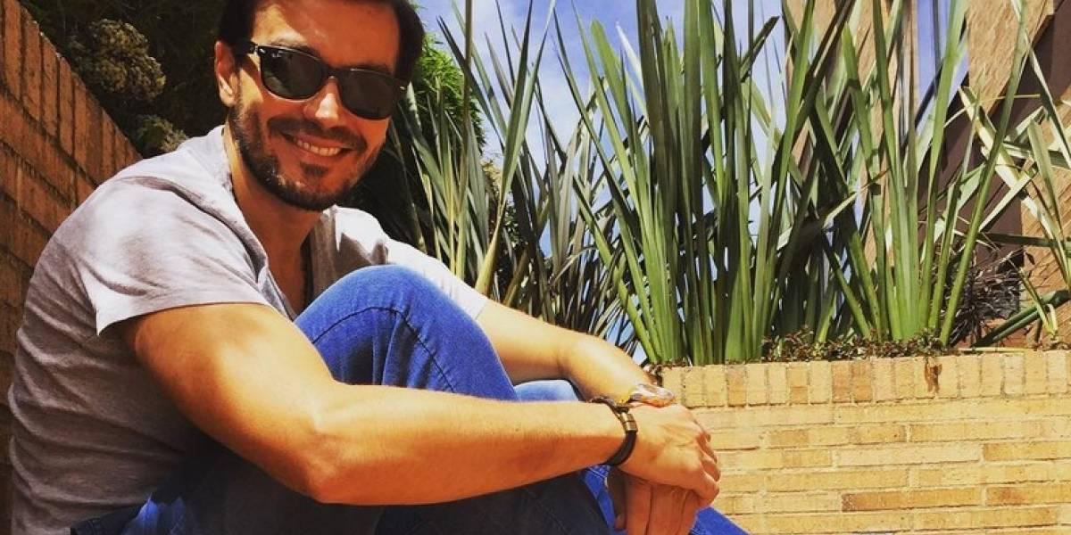 ¡Vieron muy bien acompañado al actor Luciano D'Alessandro!