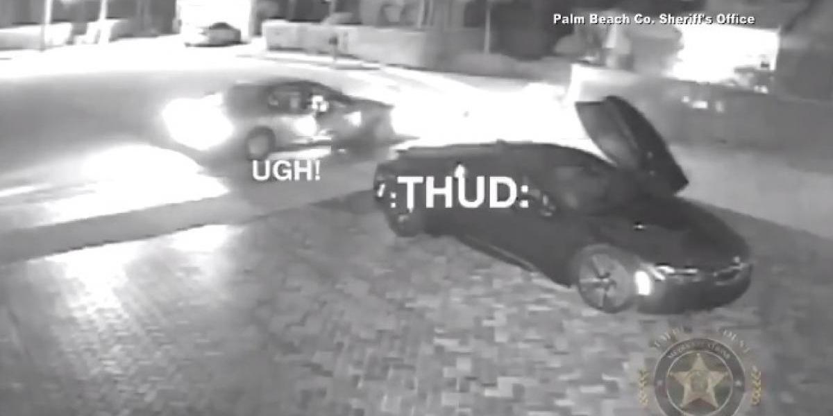 """El video en que la policía se burla del delincuente """"más tonto del mundo"""""""
