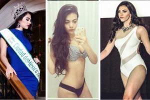 "VIDEO: Hermana de Raúl Jiménez pone a ""arder la tierra"" tras ganar Miss Earth México 2017"