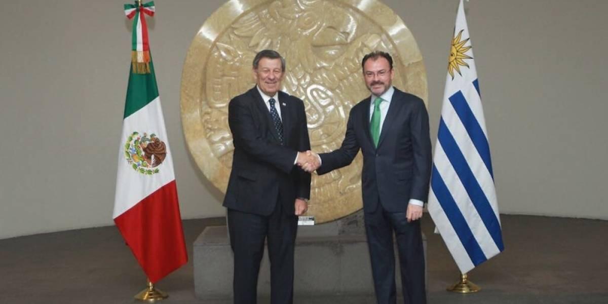 Videgaray anuncia modernización del acuerdo comercial con Uruguay