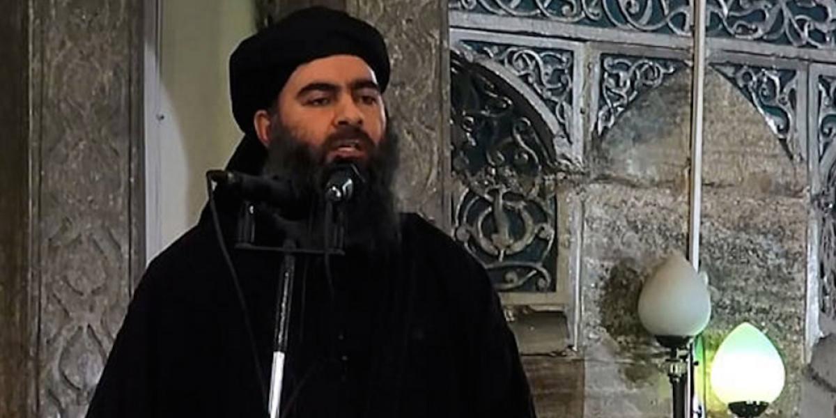 Reportan posible muerte del máximo líder del Estado Islámico tras bombardeo