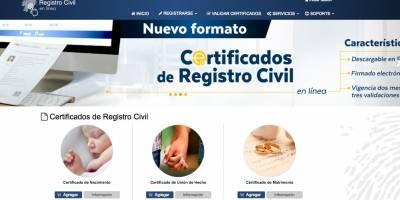 El Registro Civil de Ecuador llega a la era digital