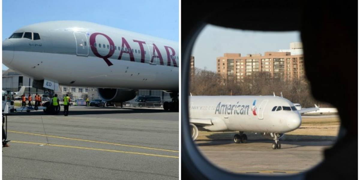 Qatar Airways pretende comprar un 10% de American Airlines