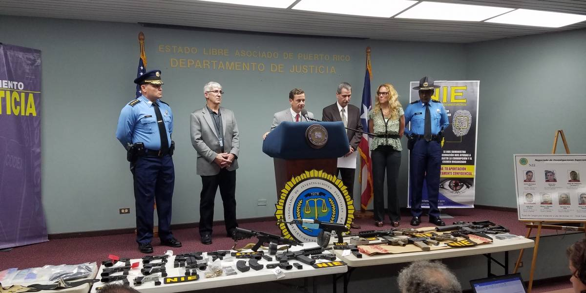 NIE detalla operativo de tráfico de armas