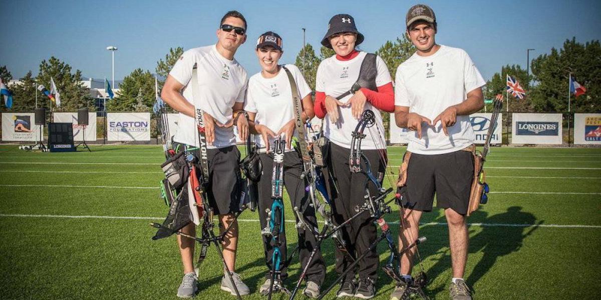 Mexicanos van por podio en Mundial de tiro con arco