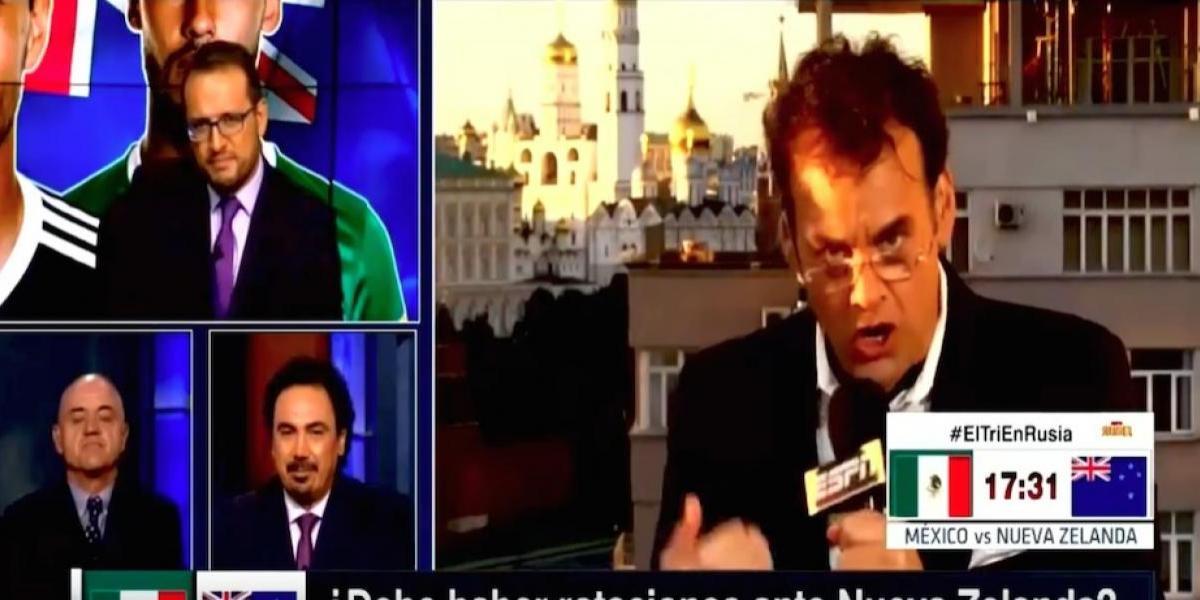 """VIDEO: Faitelson le dice al """"Chelís"""" que está en ESPN para conseguir """"chamba"""" de DT"""