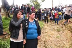 Víctimas de la familia García Carrillo en Huehuetenango