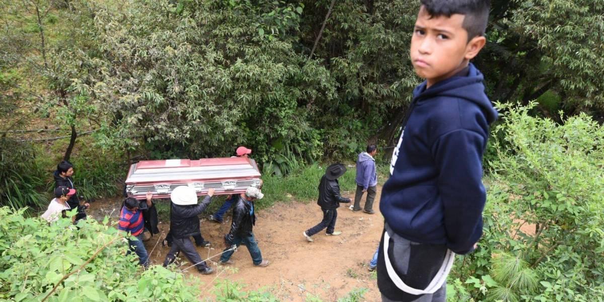 La familia García Carrillo vive su peor tragedia tras alud en Huehuetenango