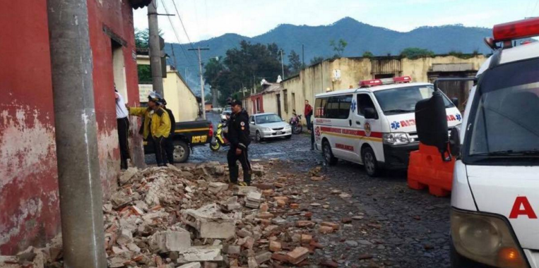 Presidente Santos se solidariza con Guatemala tras sismo de magnitud 6,7