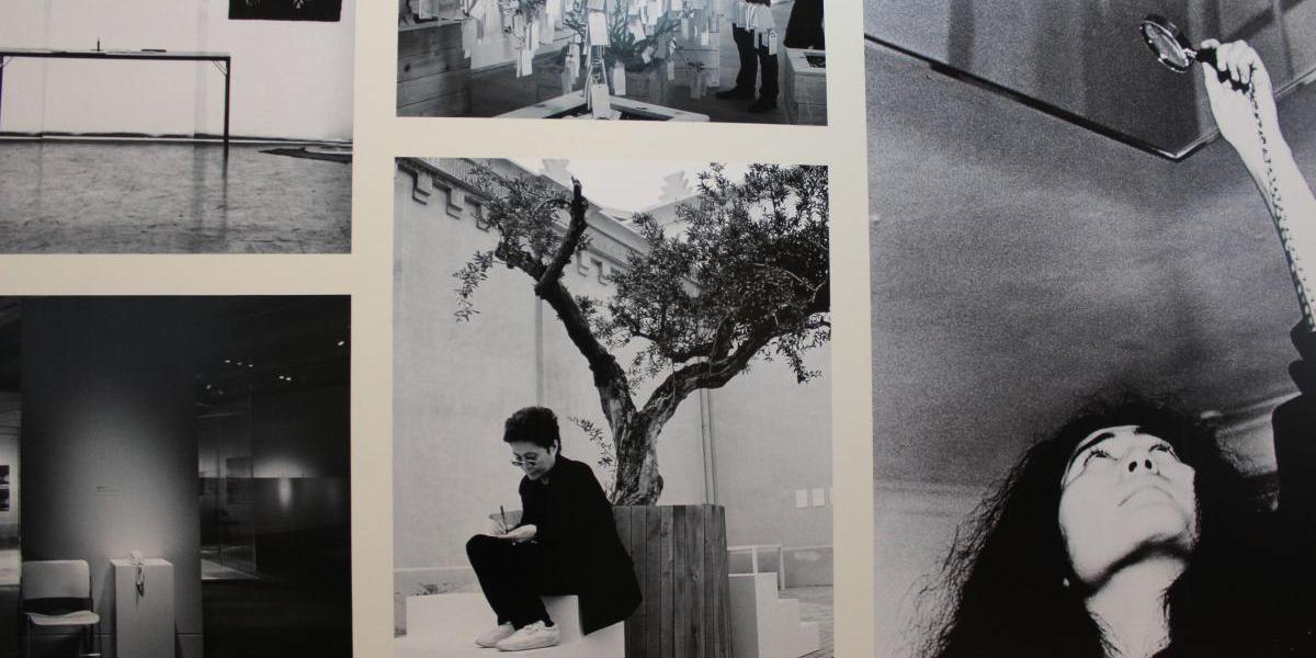Obra que enamoró a John Lennon de Yoko Ono está en Chile