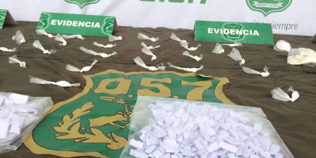 Arrestan a embarazada de nueve meses por tráfico de drogas en Santiago