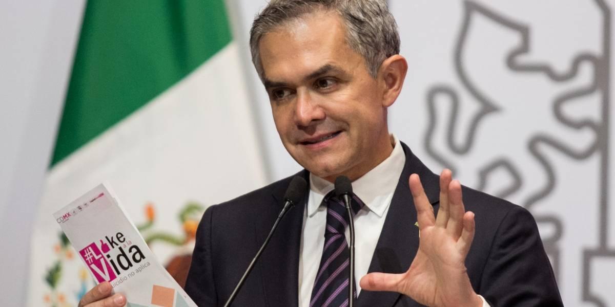 Dejaré gobierno de la CDMX para competir por la candidatura presidencial: Mancera