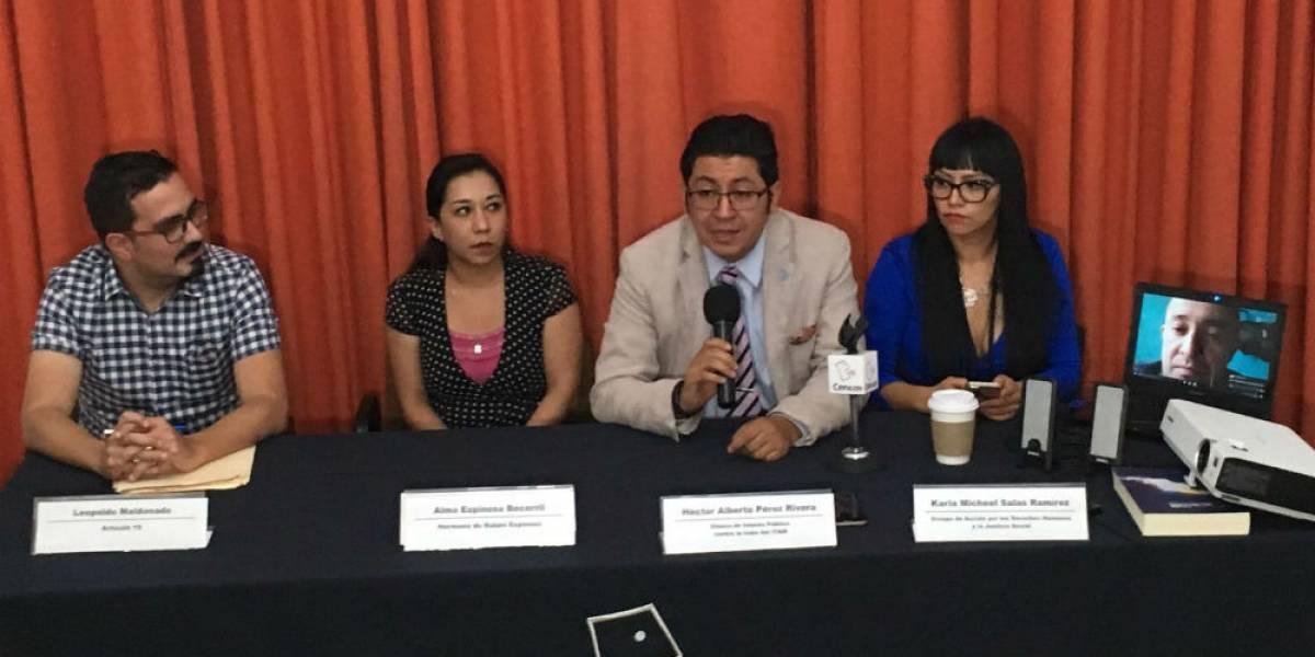 Exigen a PGJ-CDMX aceptar recomendación de CDH por caso Narvarte