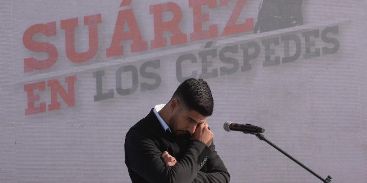 VIDEO. Luis Suárez llora al recibir este emotivo reconocimiento