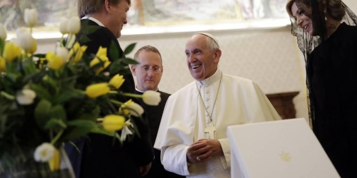 EN IMÁGENES. El papa Francisco recibe a los reyes de Holanda