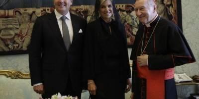 Reyes de Holanda en El Vaticano