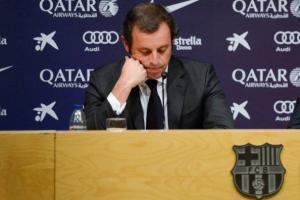Fiscal pide que ex presidente del Barça siga en prisión por riesgo de fuga
