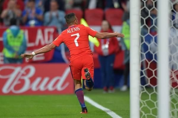 Alexis Sánchez es el goleador histórico de la selección chilena / imagen: Photosport