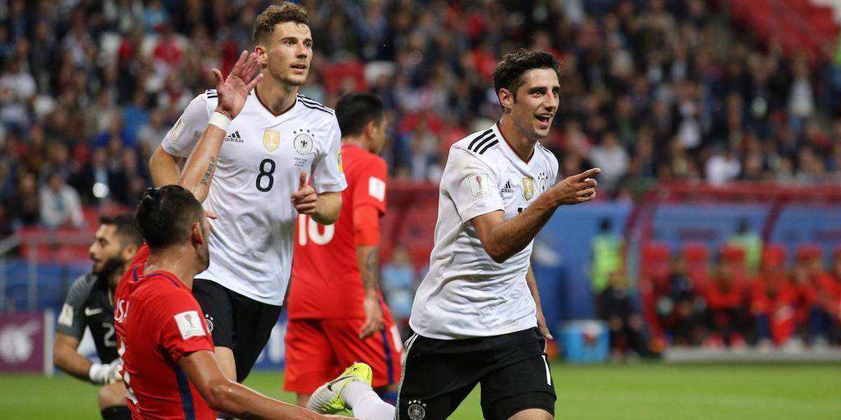 Minuto a minuto: Alemania golpea a Chile y le empata el partido en la Confederaciones