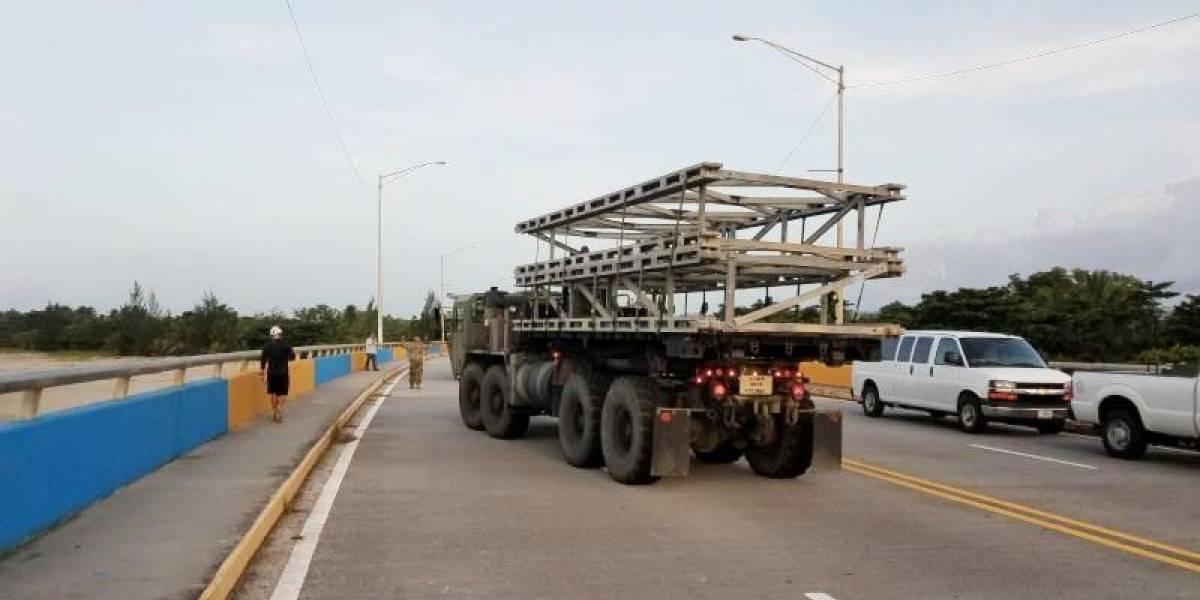 Llega puente temporero a Arecibo