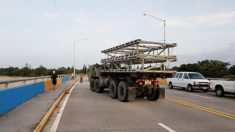 puente temporero