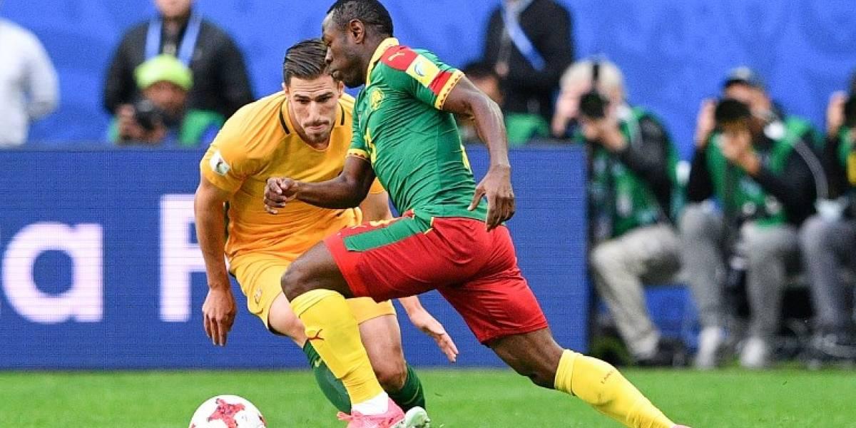Camerún y Australia dividen puntos en la Confederaciones