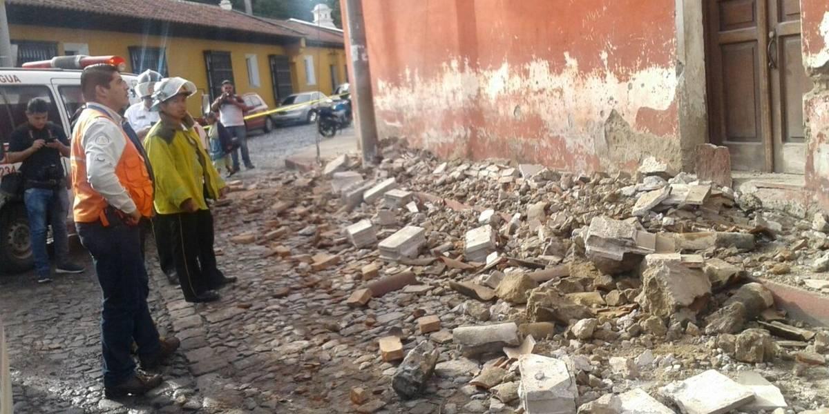 Conred reporta derrumbes y daños en inmuebles en 7 departamentos por sismo