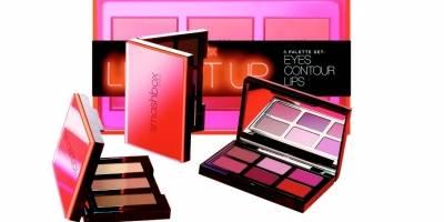 Light It Up 3 Palette Set: Eyes Contour Lips