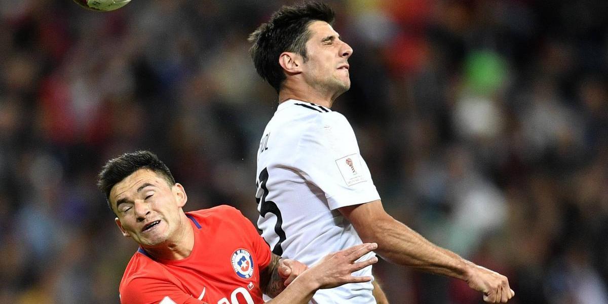 Chile y Alemania empatan y siguen líderes en el Grupo B