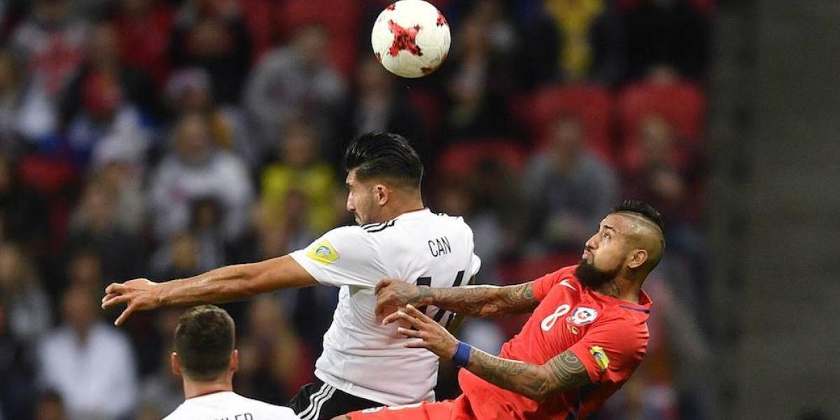 Alemania y Chile empatan y aplazan su pase a semifinales