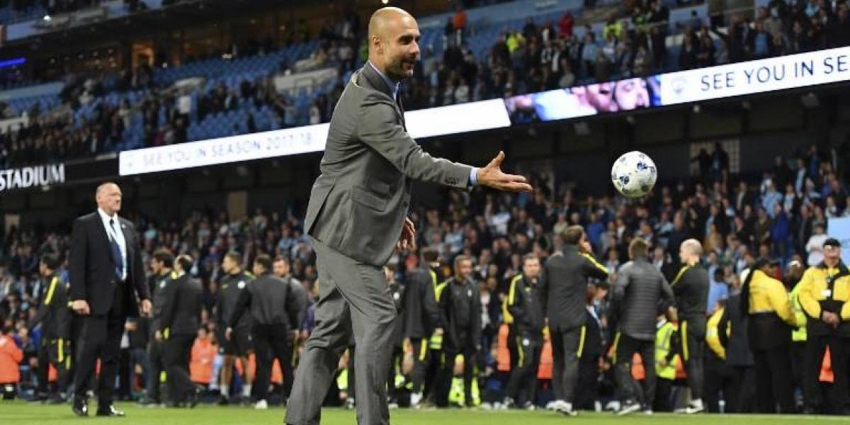 """Guardiola está """"contento"""" con los refuerzos del City y lanzó aviso a sus rivales"""