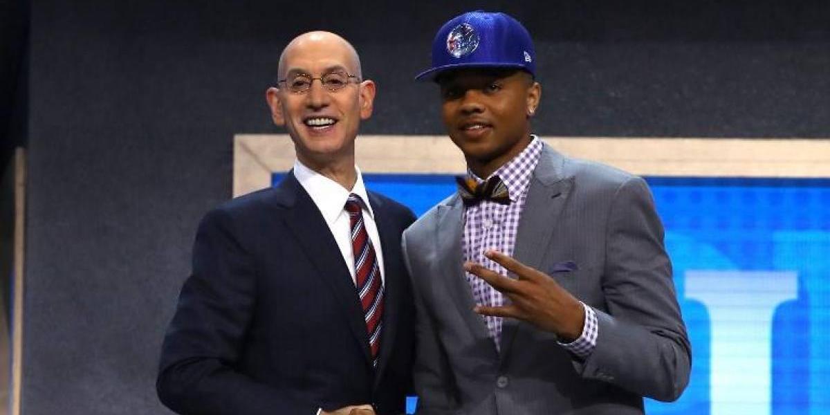 Markelle Fultz fue el número 1 del tradicional draft de la NBA marcado por sorpresivos traspasos