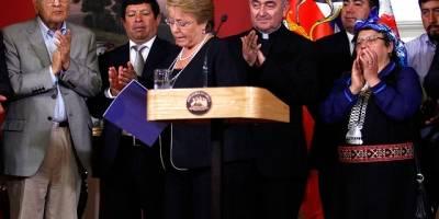 Presidenta presenta el Plan de Desarrollo para la Araucanía
