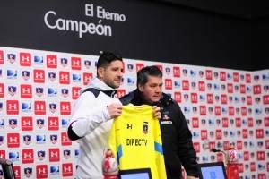 Agustín Orión se adueña del arco de Colo Colo: 'La meta es campeonar para volver a la Libertadores'