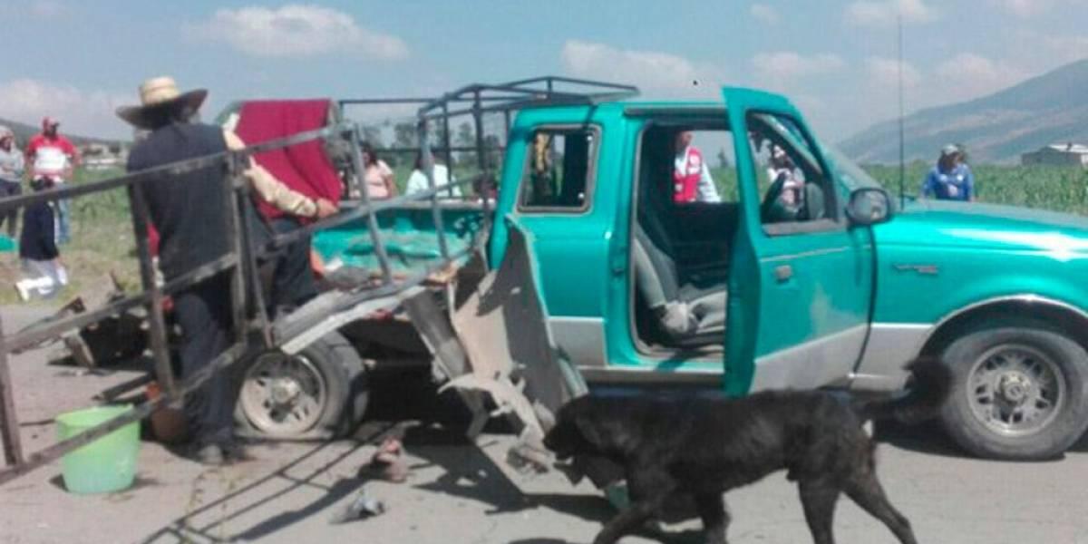 Explosión de pirotecnia en Acambay deja un muerto y 9 lesionados
