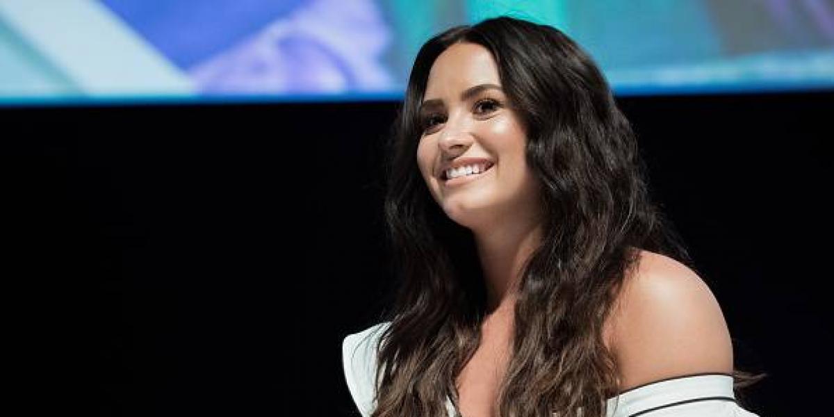 La foto más sensual de Demi Lovato en la cama