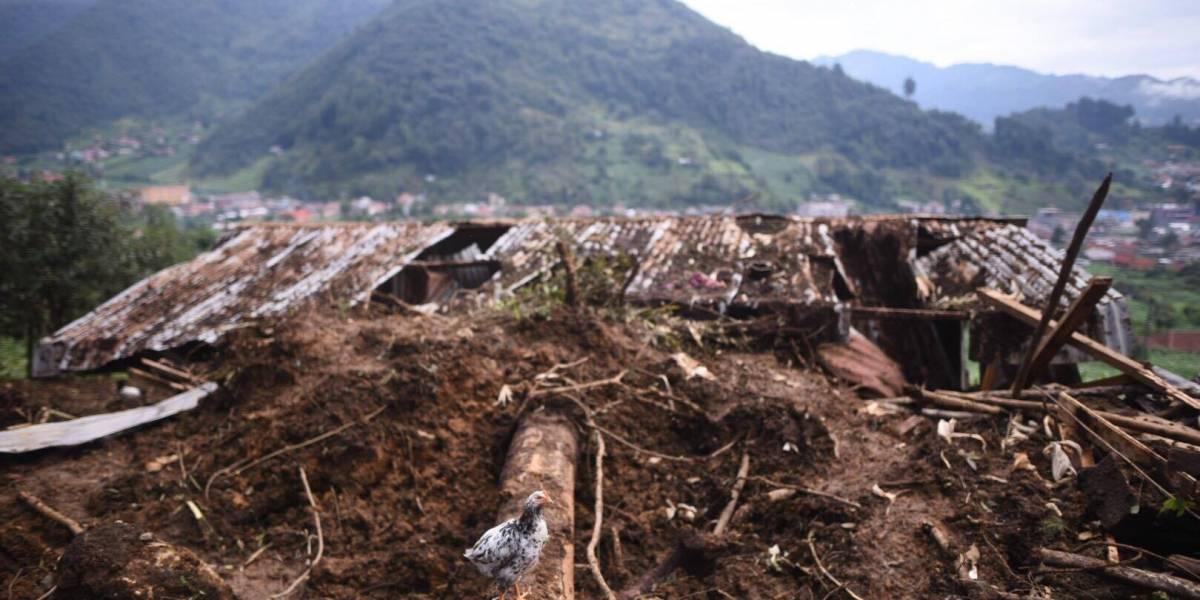 Alud San Pedro Soloma: Alicio García se reencuentra con sus hijas después de la tragedia
