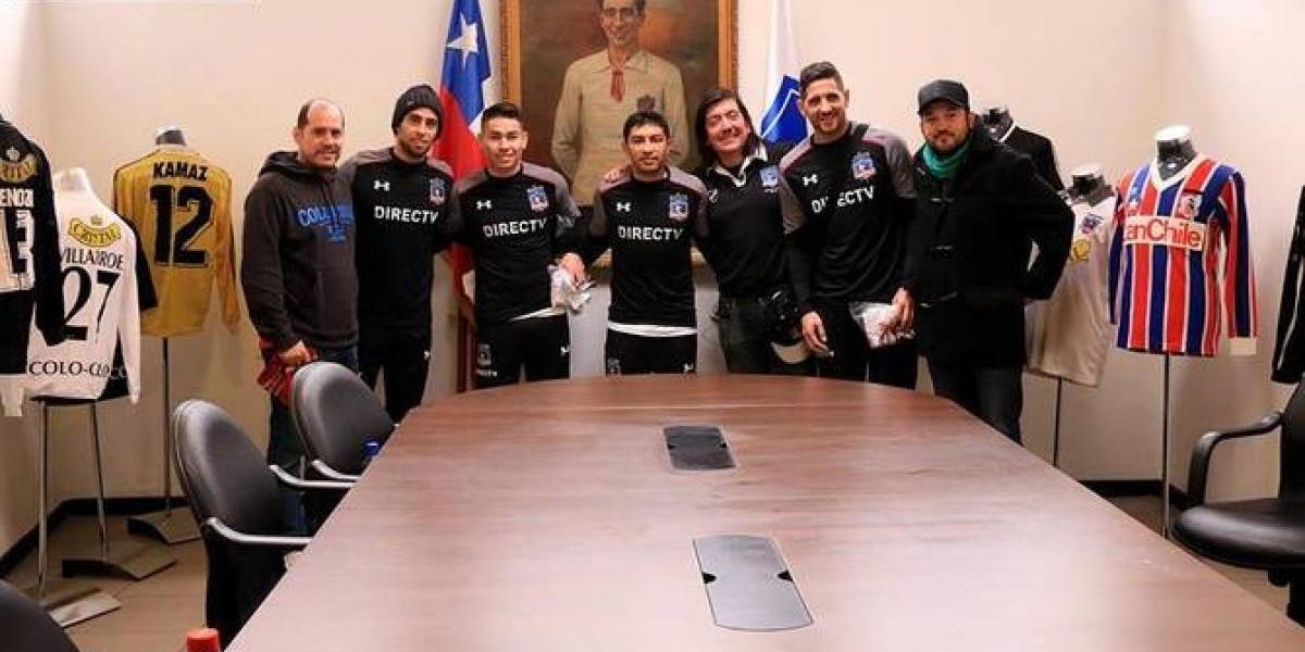 """Refuerzos albos y Pablo Guede fueron parte de la primera """"arellanización"""" en Colo Colo"""