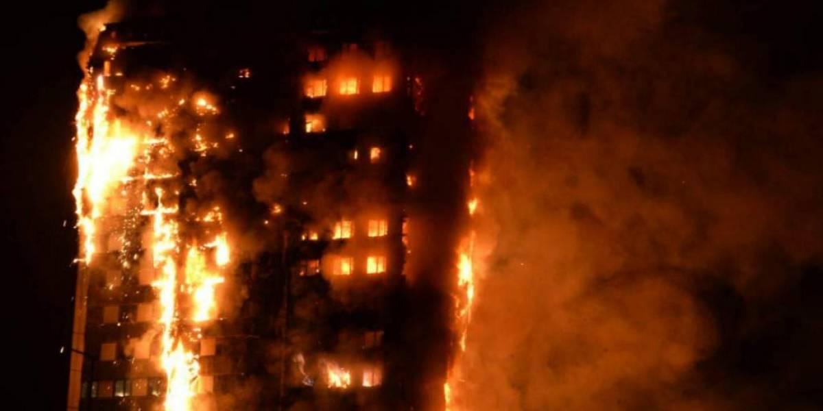 Policía de Londres confirma que incendio que arrasó la Torre Grenfell se originó en un congelador