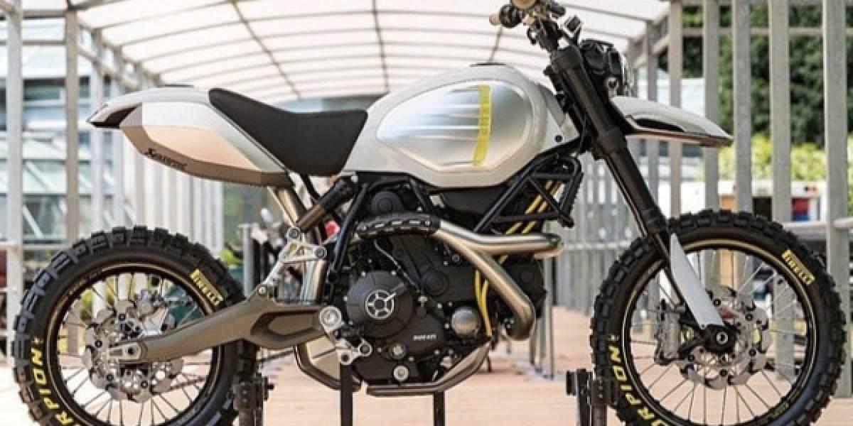 Doble premiación a Ducati por sus motos conceptuales