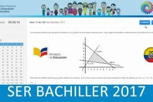 Unos 300 000 estudiantes se someterán a la prueba Ser Bachiller