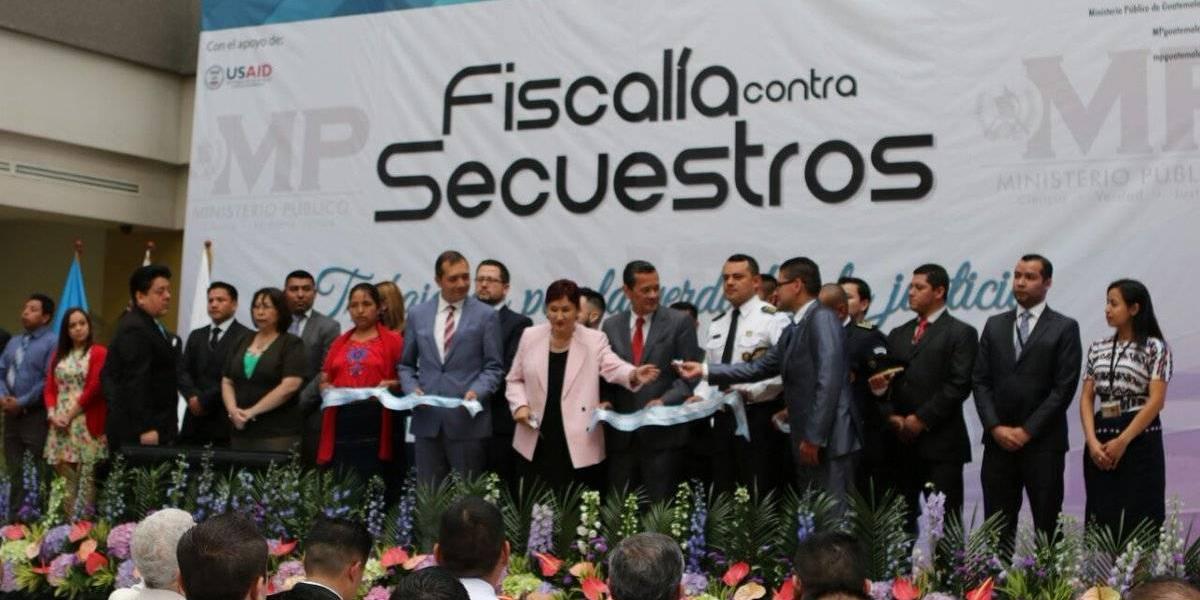 Ministerio Público inaugura Fiscalía contra Secuestros