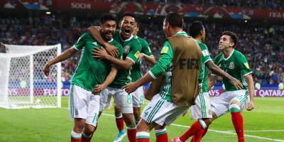 México y Portugal pasan a las semifinales de la Copa Confederaciones