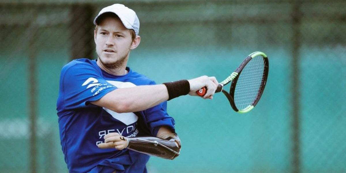 Impresionante: el tenista que ganó un punto ATP pese a su discapacidad física