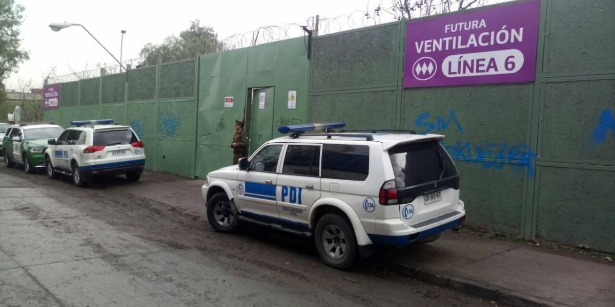 Rescatan cuerpos de los dos hombres muertos al interior de obras de Línea 6 del Metro en San Miguel