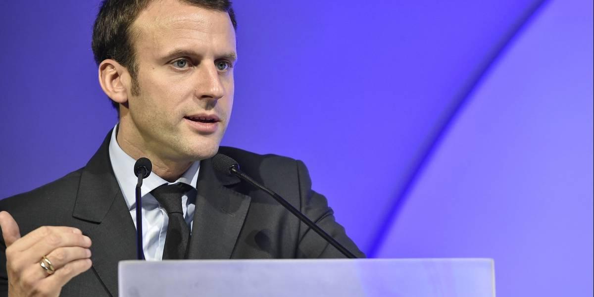 """Señala Macron que crisis migratoria en la Unión Europea """"no es pasajera"""""""
