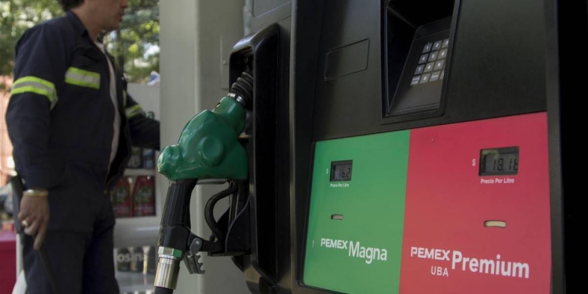 Magna, Premium y Diésel suben un centavo este fin de semana